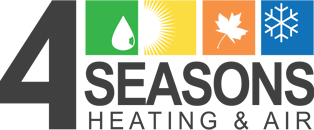 4 Seasons Heating & Air Logo