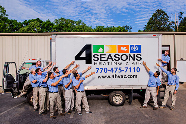 4 Seasons Heating and Air AC Maintenance Services in Dunwoody GA